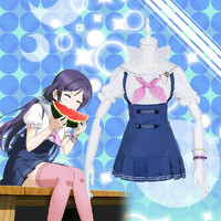 S/M/L Love Live Toujou Nozomi Sailor Dress Cosplay Costume CP153580