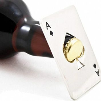 Ace of Spades Bottle Cap Opener