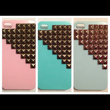 iPhone 4 Studded Phone Case by studnyc on Etsy