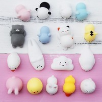 Cute Mochi Squishy Toy Stress Reliever