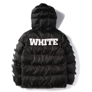 9913e04773b OFF WHITE Mens Men Hip Hop Jackets High Quality number 13 printed Fashion  winter fashion Coat