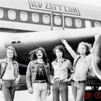 Led Zeppelin Airplane Music Poster