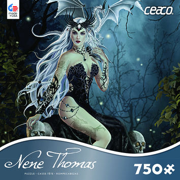 Nene Thomas - Ceaco Mad Queen Jigsaw Puzzle