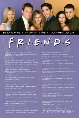 "The ""everything I Know In Life I Learned From Friends"" Notebook Paper Products Business & Industrial"