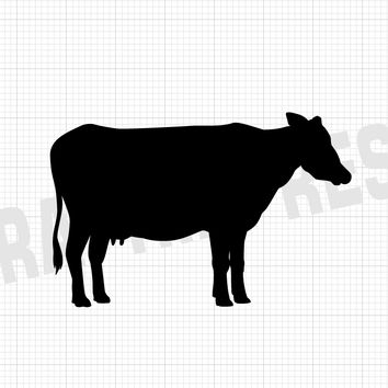 Cow Decal - Cow Sticker - Animal Decals - Animal Stickers