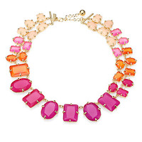 Kate Spade New York - Graduated Faceted Link Necklace