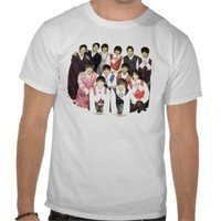 Super Junior in Korean costume Tee Shirt from Zazzle.com