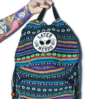 Jac Vanek Later Nerds Backpack Multi One