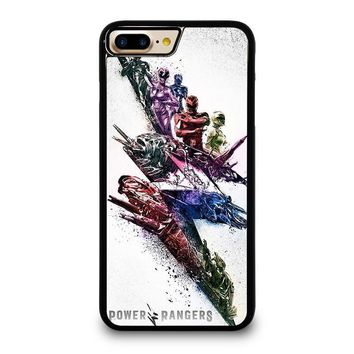 power rangers new iphone 4 4s 5 5s se 5c 6 6s 7 8 plus x case  number 1