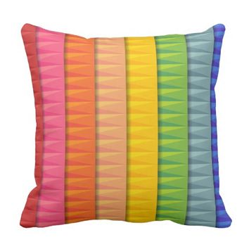 Rainbow : Throw Pillow