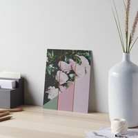 'Pink Roses Palette' Art Board by by-jwp