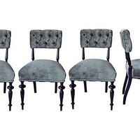 Antique Swedish Chairs, Set of 4 - One Kings Lane - Vintage & Market Finds - Furniture