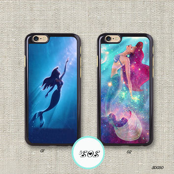 the best attitude fec43 5a774 Resin The little mermaid iPhone 6 case ariel iPhone 5S case iPhone 5c 4S  Disney iPhone 6 plus Samsung Galaxy S3 S4 S5, Note 2/ 3 - S0050