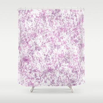 Abstract Wallpaper Shower Curtain by Colorful Art