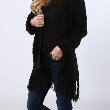 Seven Wonders Fringe Sweater