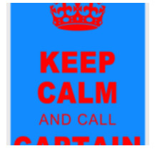Keep Calm and Call Captain America By Alice Gosling for Apple iPhone 5