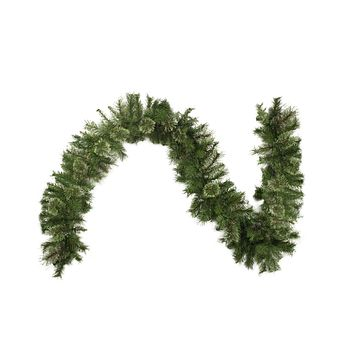 "9' x 10"" Mixed Cashmere Pine Artificial Christmas Garland - Unlit"