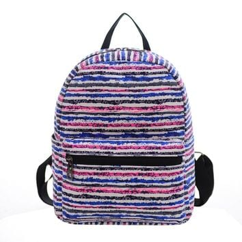 Canvas Printing Backpack Women Women Canvas Shoulder Bag Printing Bag School Backpack Rucksack mini backpacks for girls
