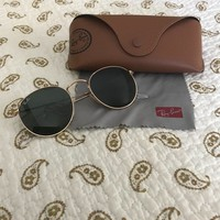 Ray-Ban RB3447 Round Metal 001 50-21