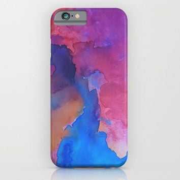 Close Your Eyes iPhone & iPod Case by DuckyB