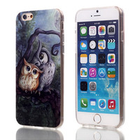 Mystical Owl Soft TPU Case For Apple iPhone 6 6S