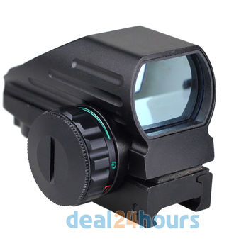 Red- Green Laser Point Dot Sight Tactical Reflex Air Rifle Pistol Airgun Hunting Free Shipping