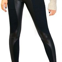 Rich Black [Leggings,Tights,Bottoms,Pants]
