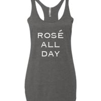 Rose All Day Tank