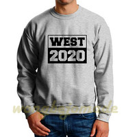 West 2020 Sweatshirt Yeezus Black Grey and White Color Unisex Sweatshirt