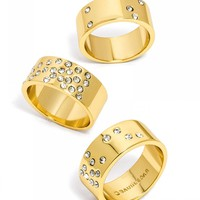Constellation Ring Trio