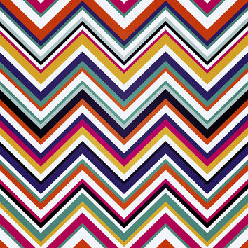 Retro Chevron Removable Wallpaper