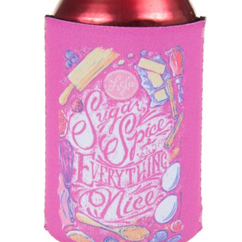 Sugar and Spice Koozie