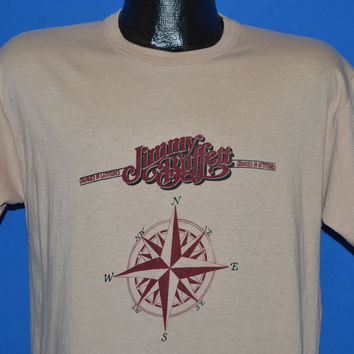 80s Jimmy Buffet Changes in Latitudes t-shirt Large