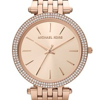 Women's Michael Kors 'Darci' Round Bracelet Watch, 39mm - Rosegold