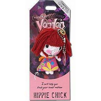 Watchover Voodoo Doll Hippie Chick Keychain