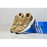 Adidas Fashion Women Casual Sport Running Shoes Sneakers Golden