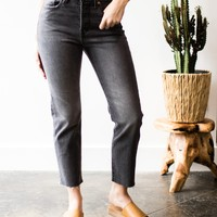 Levis Wedge Black Embers Straight Fit