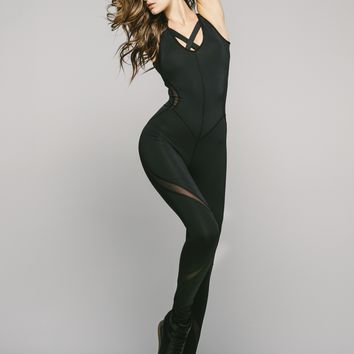 Michi Siren Jumpsuit - Black