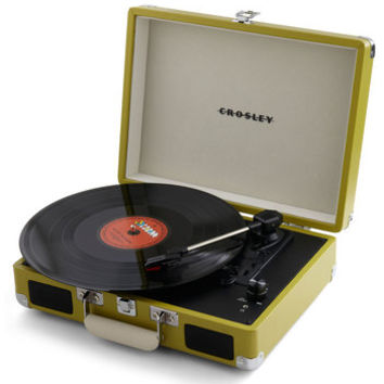 ModCloth Dorm Decor Take Your Turntable in Green