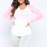 Only Got Love Top - Pink