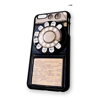 Vintage Payphone iPhone 6 Plus case