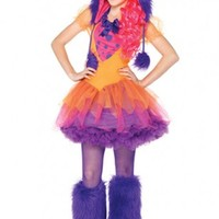 Orange Purple 2 PC Furrocious Frankie Juniors Costume @ Amiclubwear costume Online Store,sexy costume,women's costume,christmas costumes,adult christmas costumes,santa claus costumes,fancy dress costumes,halloween costumes,halloween costume ideas,pirate