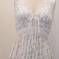 Beautiful 1970s Gunne Sax Sundress size Medium