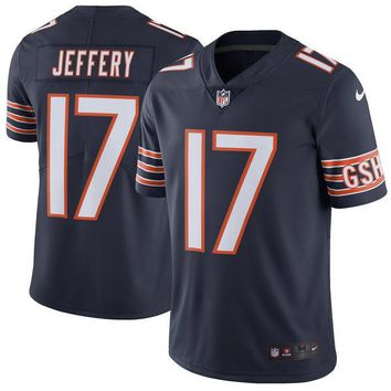 Men's Chicago Bears Alshon Jeffery Nike Navy Limited Jersey