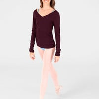 Free Shipping - Adult V-Neck Sweater by BLOCH