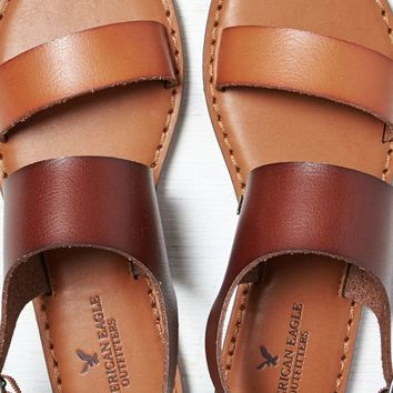 Aeo Women S Colorblocked Slingback Sandal From American Eagle