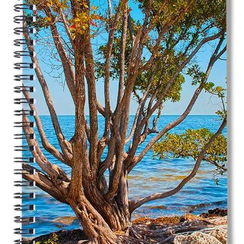 Blue Biscayne - Spiral Notebook