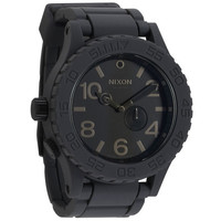 Nixon The Rubber 51-30 Watch Grey One Size For Men 18714511501