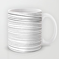 Lines Mug by LacyDermy