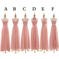 HMT_Pink Floor Length Bridesmaid Dress,Prom Dresses,Maxi Dresses = 1956806340